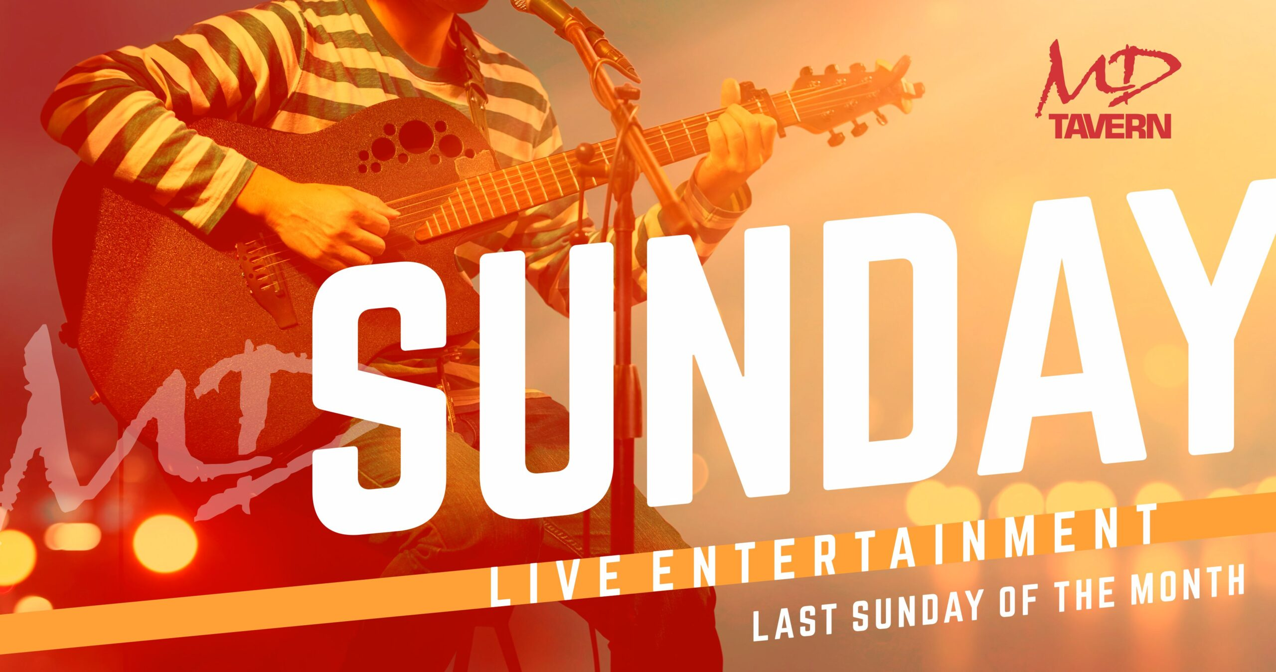 Sunday Live Entertainment MD Tavern