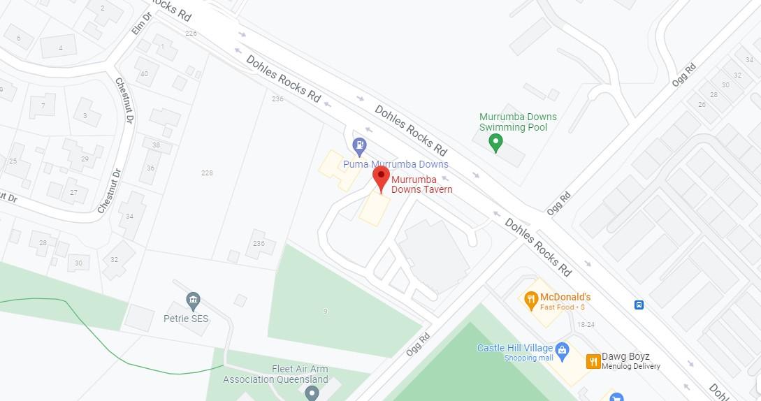 Murrumba Downs Tavern Location Map